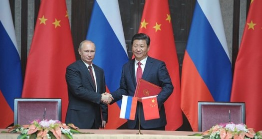 Russland und China