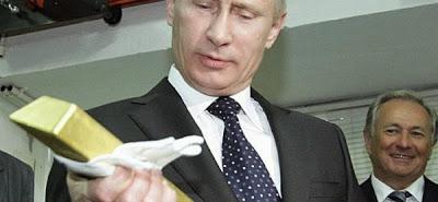 Putin kontrolliert das Gold