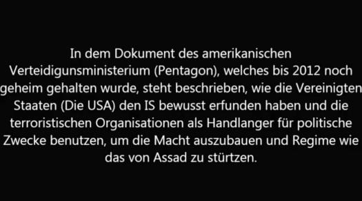 USA gründeten ISIS