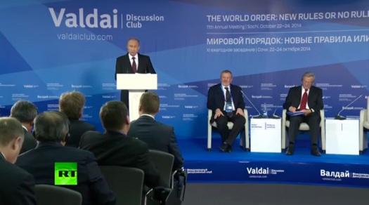 Wladimir Putin - Valdai