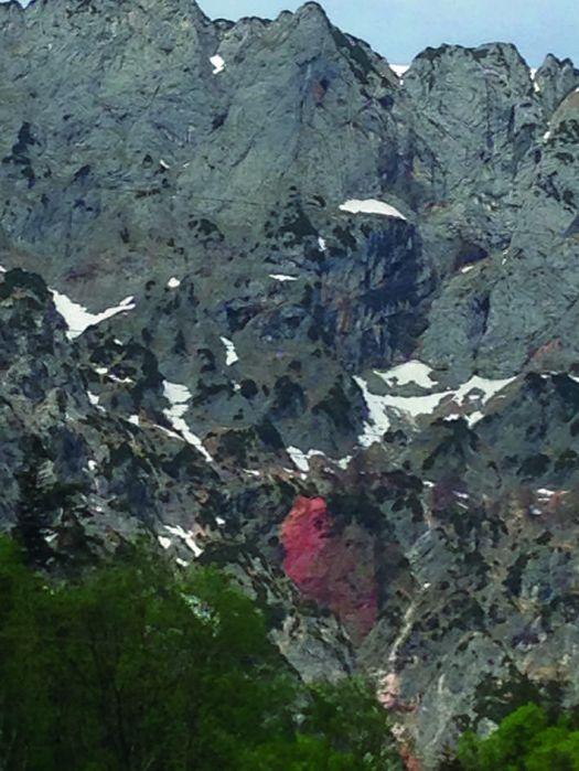 Untersberg blutet Herz