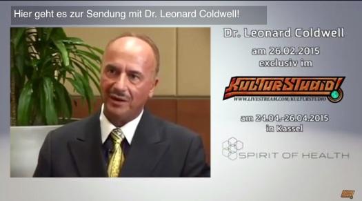 Wissenswert: Dr. Leonard Coldwell - jeder Krebs ist in 2-16 Wochen heilbar!