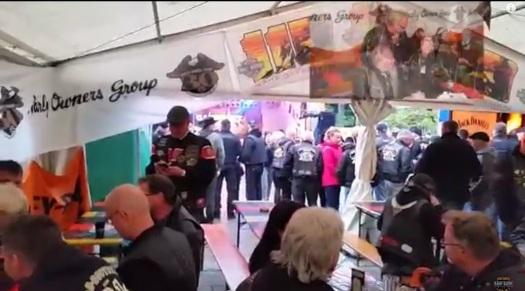 20 Jahre Thüringen Chapter mit Freunden und Harley on tour