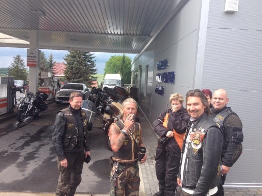 20 Jahre Thueringen Chapter mit Harley