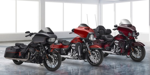 2018 CVO Familie Custom-Touring-Look vom Feinsten